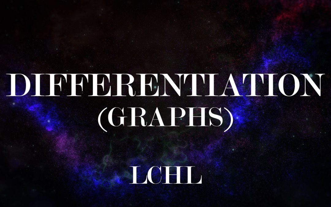 Differentiation – Application to Graphs