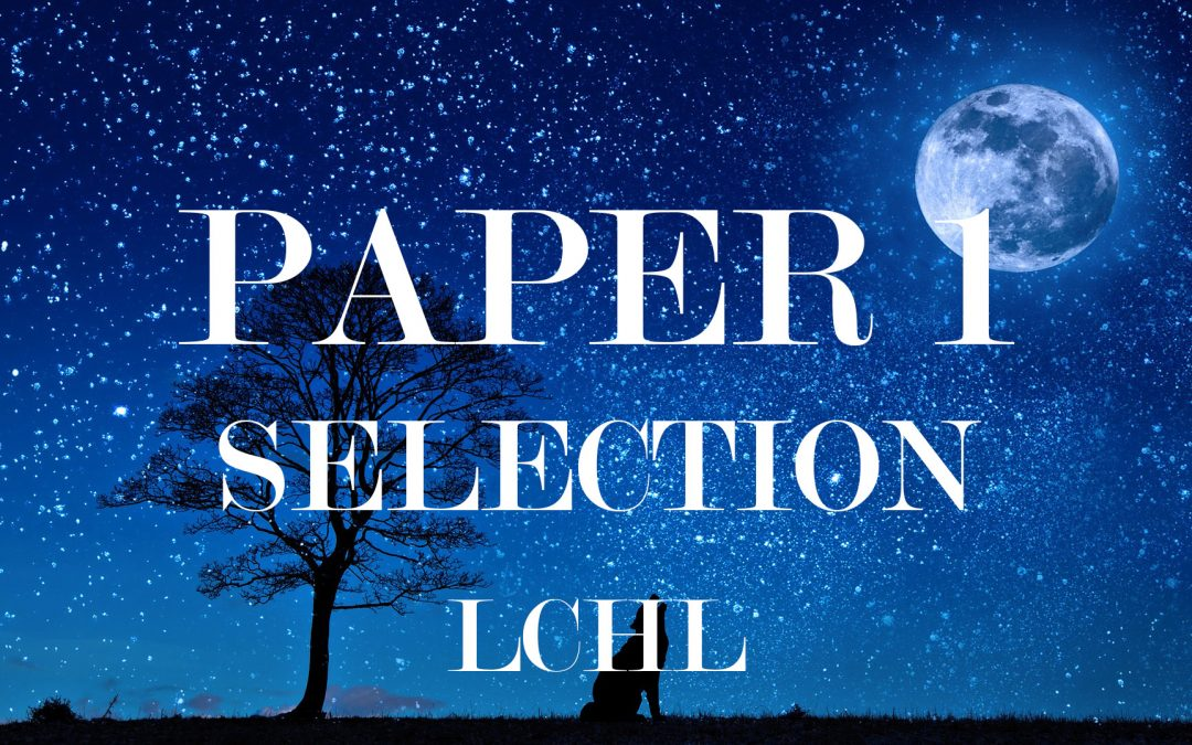 Paper 1 – Selection